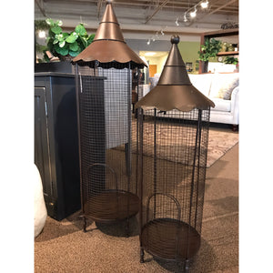 Nested Iron Bird Cage Lanterns