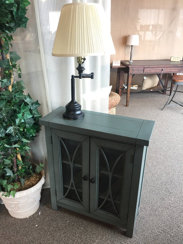 2 Glass Door Cabinet