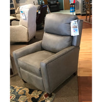 Leather Recliner with Nailhead trim
