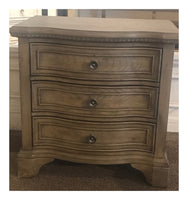 Curved Front Night Stand
