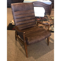 Mid Century Modern Leather Chair