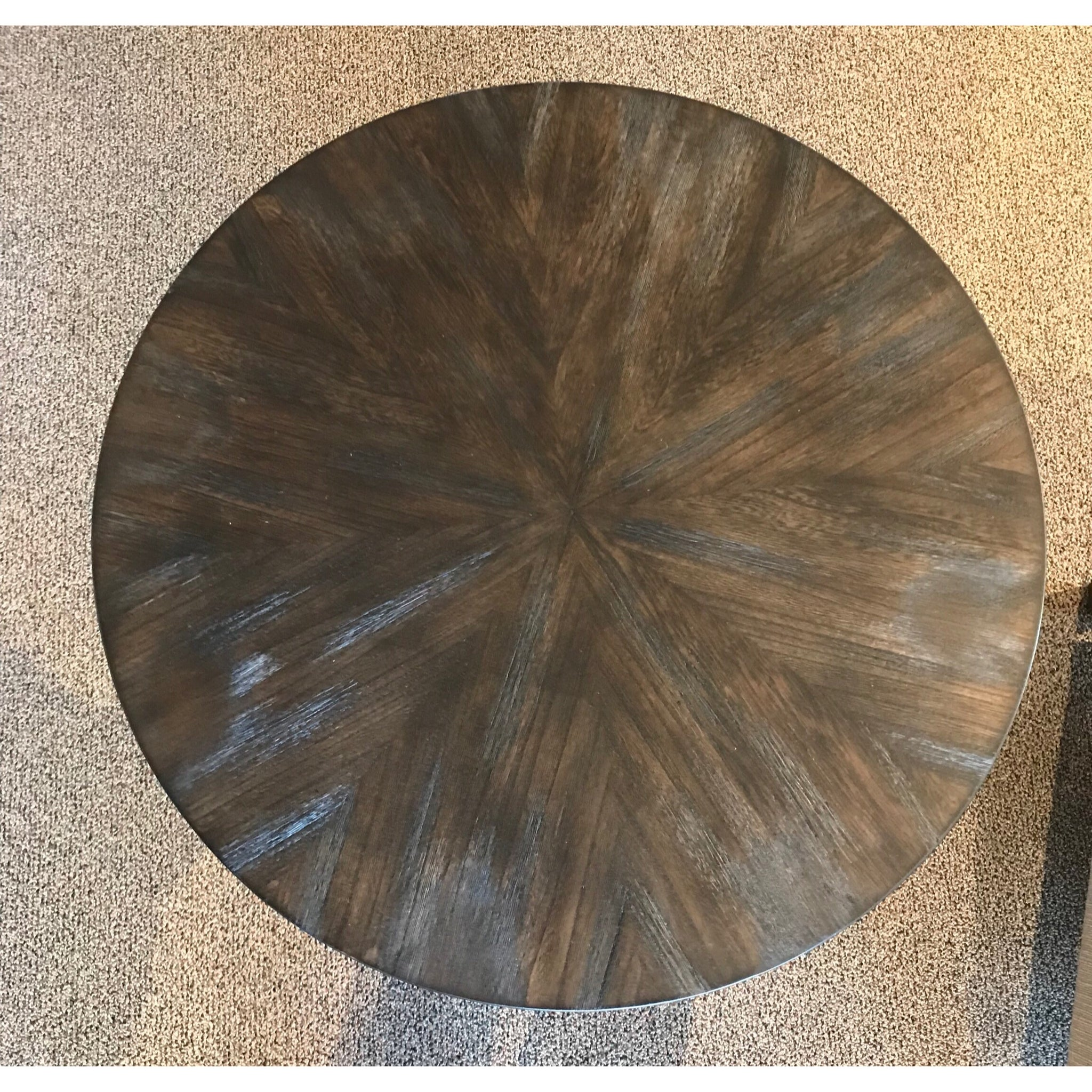 Walnut & Metal Table