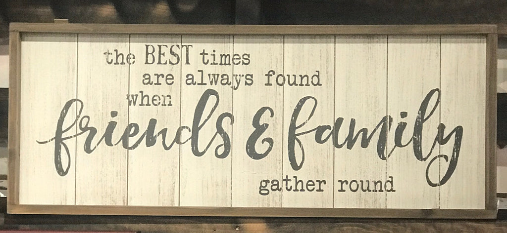 Friends & Family Wall Decor