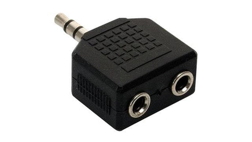 ADAPTADOR DE 2 JACKS 3.5 mm A PLUG 3.5mm ESTÉREO -  - MICROSIDE TECHNOLOGY