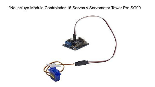 EXTENSION 15 cm PARA SERVOMOTOR -  - MICROSIDE TECHNOLOGY