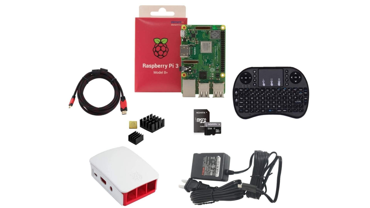 KIT AVANZADO RASPBERRY PI 3 B+