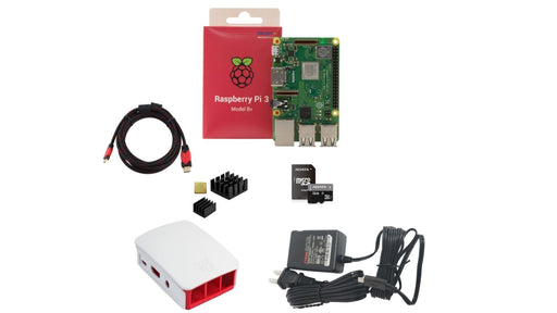 KIT INTERMEDIO RASPBERRY PI 3 B+ -  - MICROSIDE TECHNOLOGY