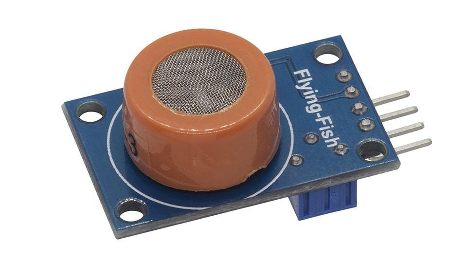 MÓDULO SENSOR DE GAS ANALÓGICO MQ3 -  - MICROSIDE TECHNOLOGY