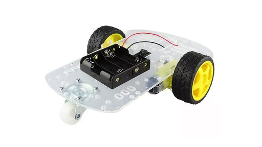 ROBOT MOVIL SEGUIDOR DE LINEA O SUMO 2WD DOBLE