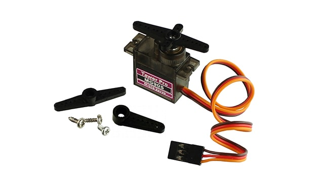 SERVOMOTOR TOWER PRO MG90S 2.5 kg, CON ENGRANAJE DE METAL