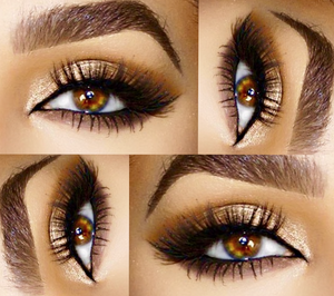 Get this look! With Marilyn 3D Mink Lashes