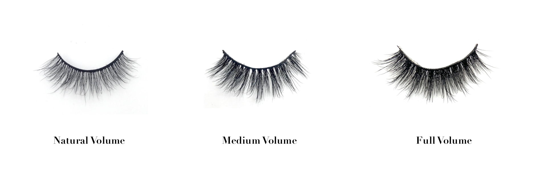how to pick the right false lashes