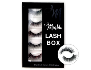 LASH BOOK- Bisou Mink Lashes - Mink Lashes, 3D Mink Lashes, False Lashes , Wispy lashes , Vegan faux mink,