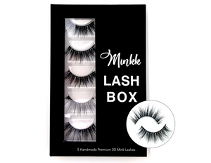 LASH BOOK- Chazz Mink Lashes - Mink Lashes, 3D Mink Lashes, False Lashes , Wispy lashes , Vegan faux mink,