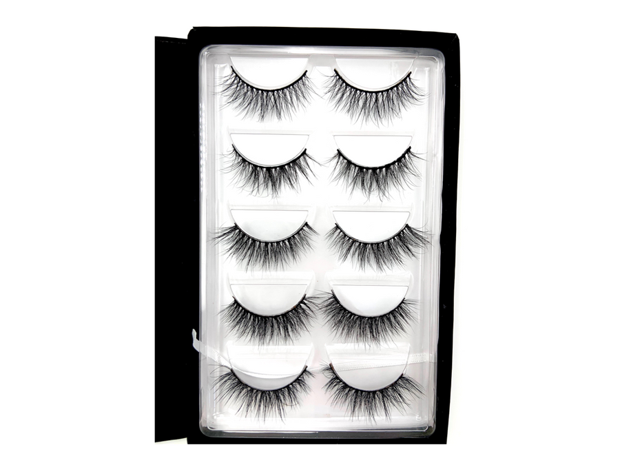 "THE ""CLASSICS"" LASH BOOK - Mink Lashes, 3D Mink Lashes, False Lashes , Wispy lashes , Vegan faux mink,"