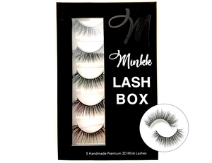 LASH BOOK- Darby Mink Lashes - Mink Lashes, 3D Mink Lashes, False Lashes , Wispy lashes , Vegan faux mink,