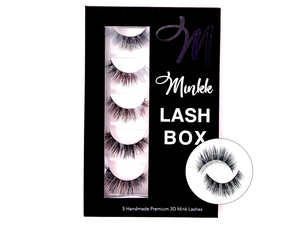 Love Me Faux Mink Lash Book - Mink Lashes, 3D Mink Lashes, False Lashes , Wispy lashes , Vegan faux mink,