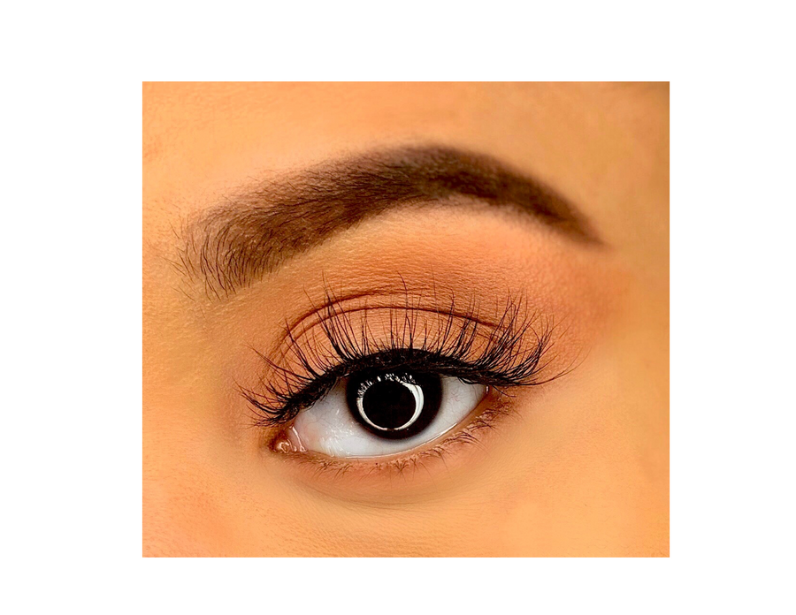 Nola Long Mink Lashes - Mink Lashes, 3D Mink Lashes, False Lashes , Wispy lashes , Vegan faux mink,