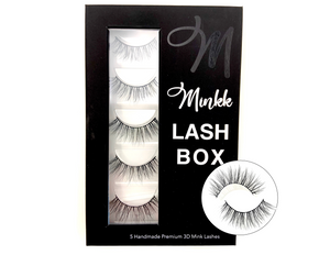 LASH BOOK- Nola Long Mink Lashes - Mink Lashes, 3D Mink Lashes, False Lashes , Wispy lashes , Vegan faux mink,