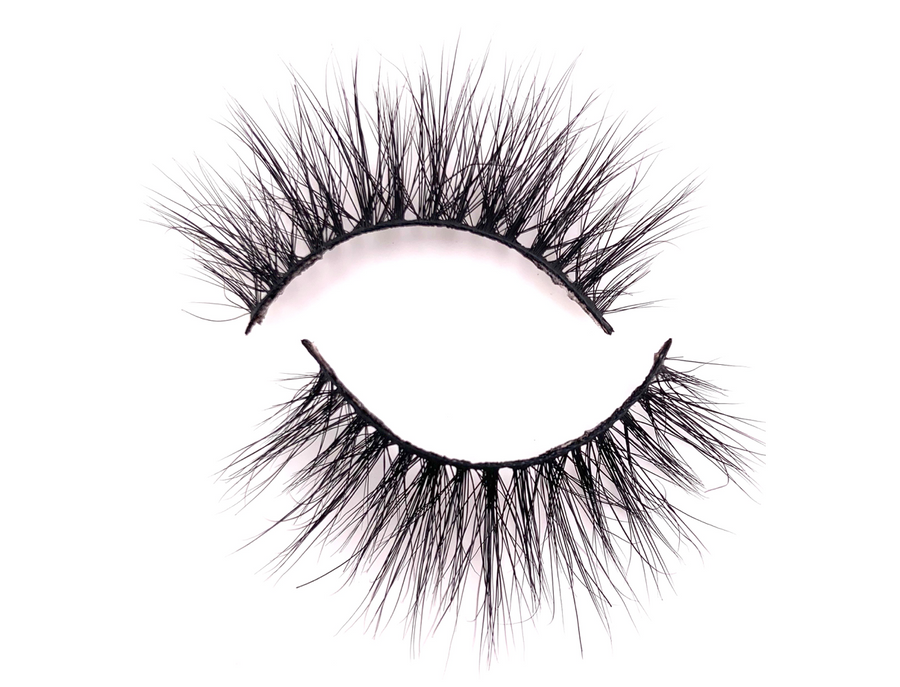 LASH BOOK- Rumor Mink Lashes - Mink Lashes, 3D Mink Lashes, False Lashes , Wispy lashes , Vegan faux mink,