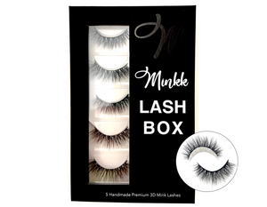 LASH BOOK- True Mink Lashes - Mink Lashes, 3D Mink Lashes, False Lashes , Wispy lashes , Vegan faux mink,