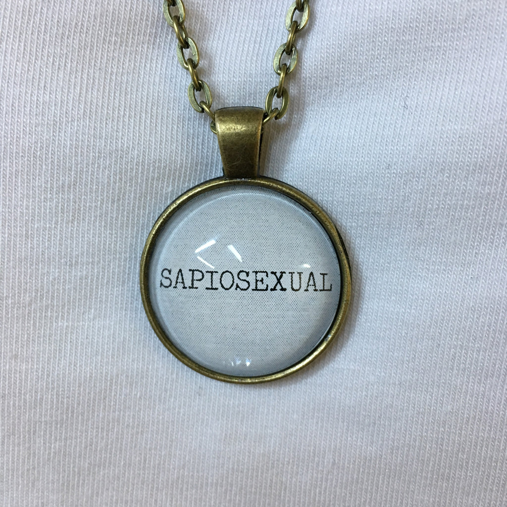 Handmade Necklace for Sapiosexuals