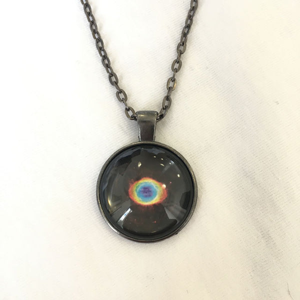 Handmade Necklace - Ring Nebula's True Shape