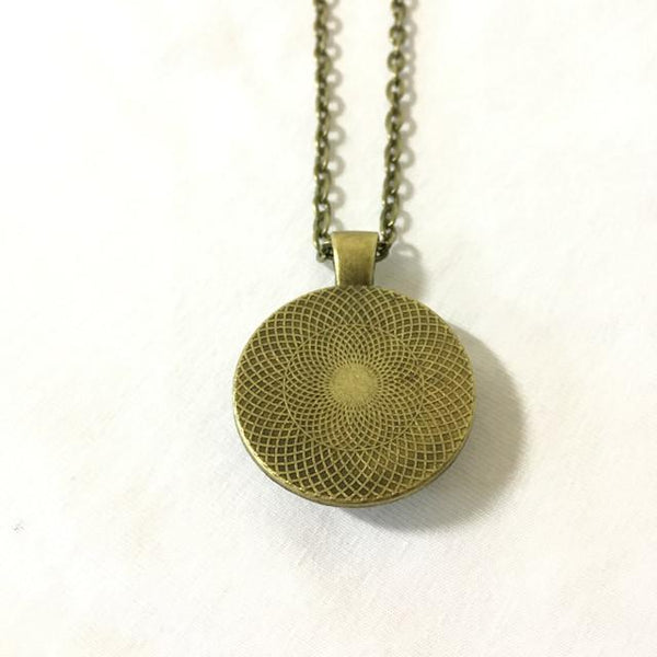 Handmade Necklace - Radio Image of the Crab Nebula