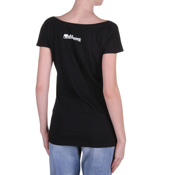 Intelligence Is Sexy Women's T-Shirt in Black