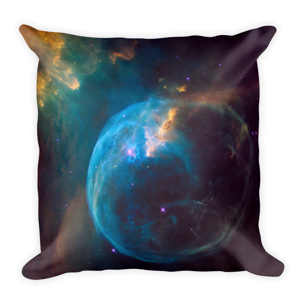 Square Pillow - The Bubble Nebula (NGC 7635)