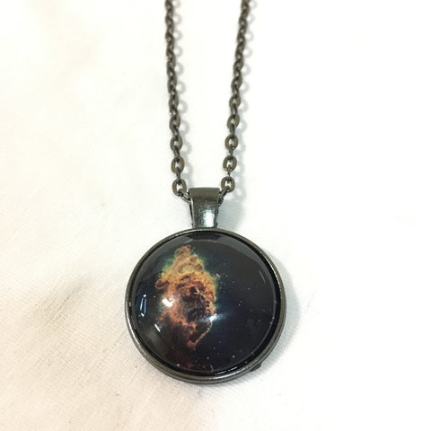 Handmade Necklace - Carina Nebula Pillar