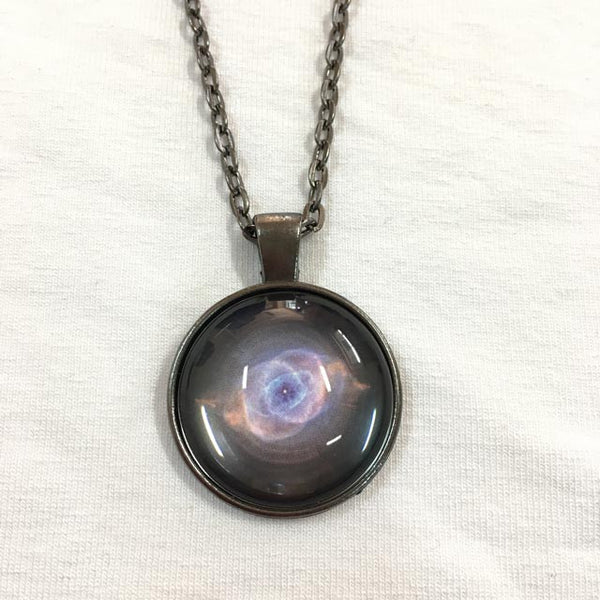 Handmade Necklace - The Cat's Eye Nebula