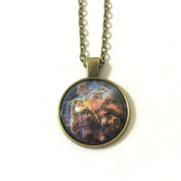 Handmade Necklace - Mystic Mountain