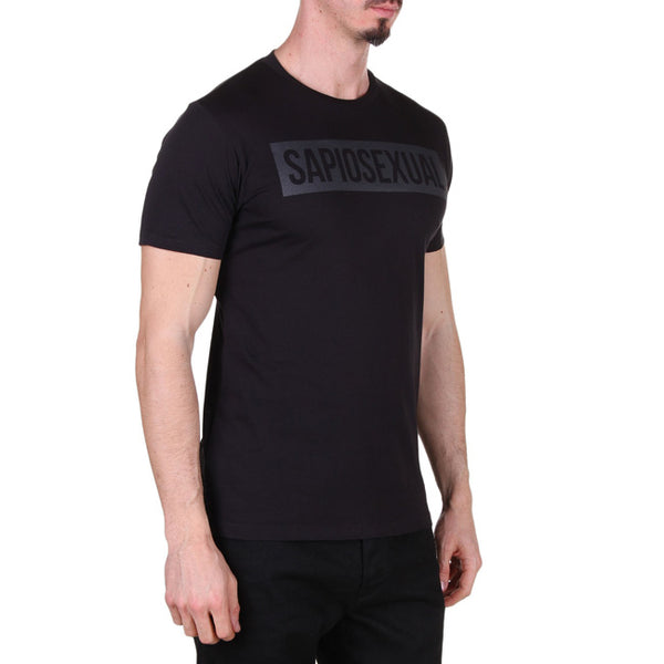 Sapiosexual - Men's T-Shirt in Black