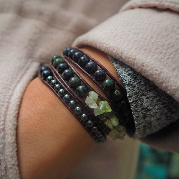 The Treasure (Protective Influence) - Crystal Handmade Bracelets