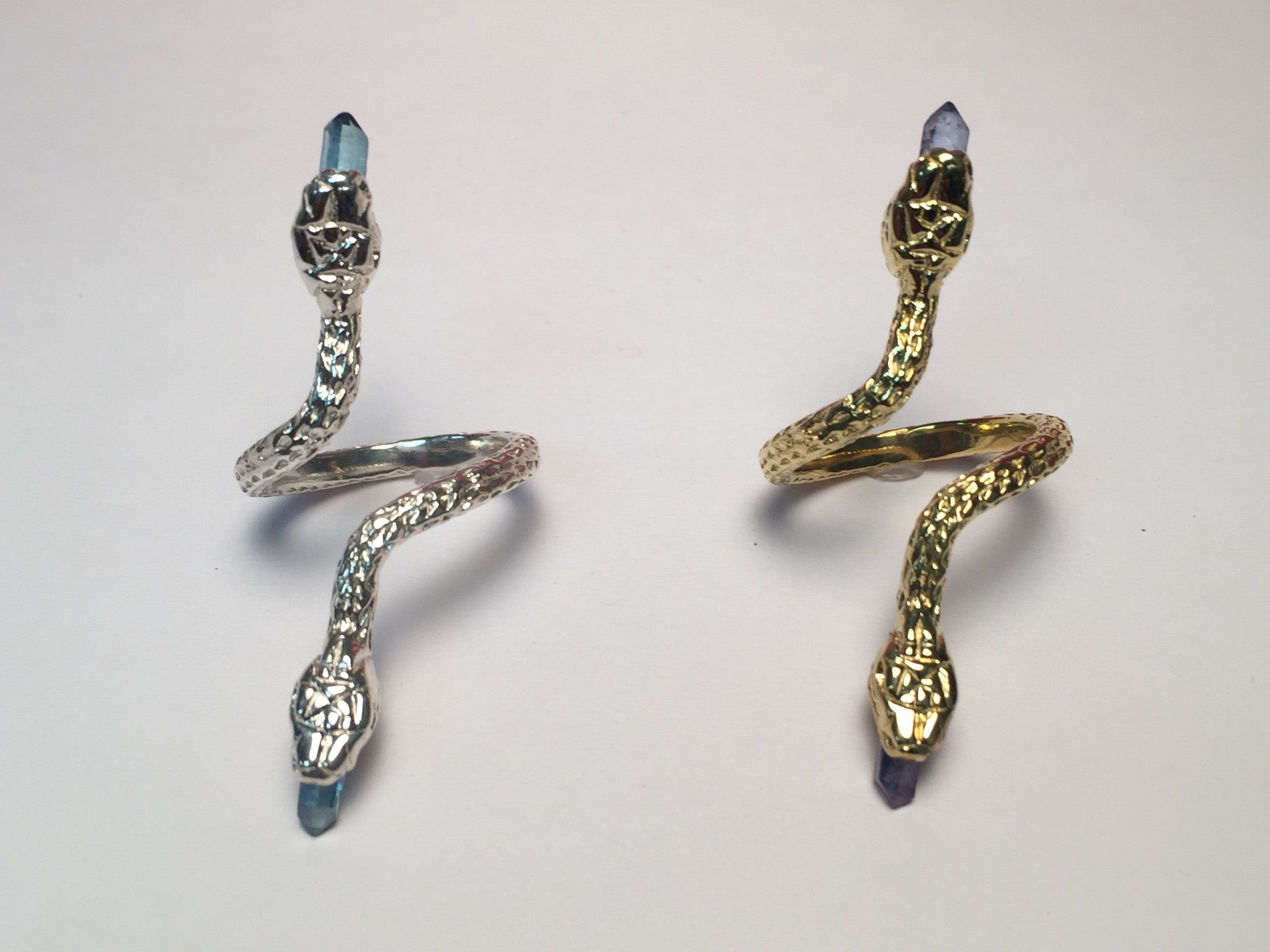 Aura Swimming Serpent Ring