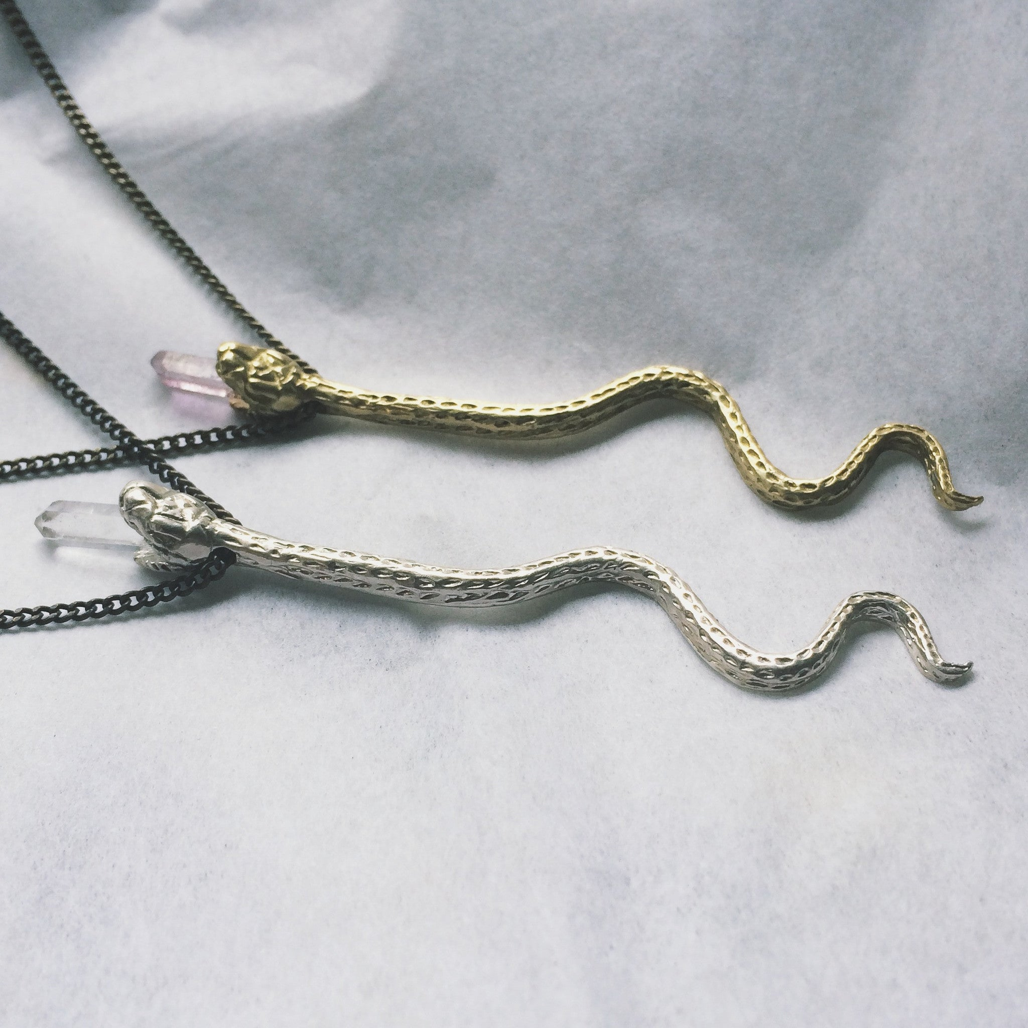 Swimming Serpent Necklace