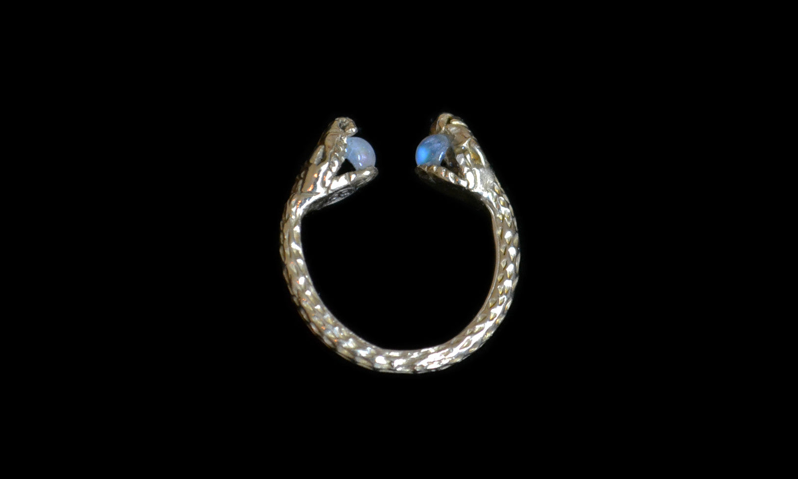Mirrored Serpent Ring