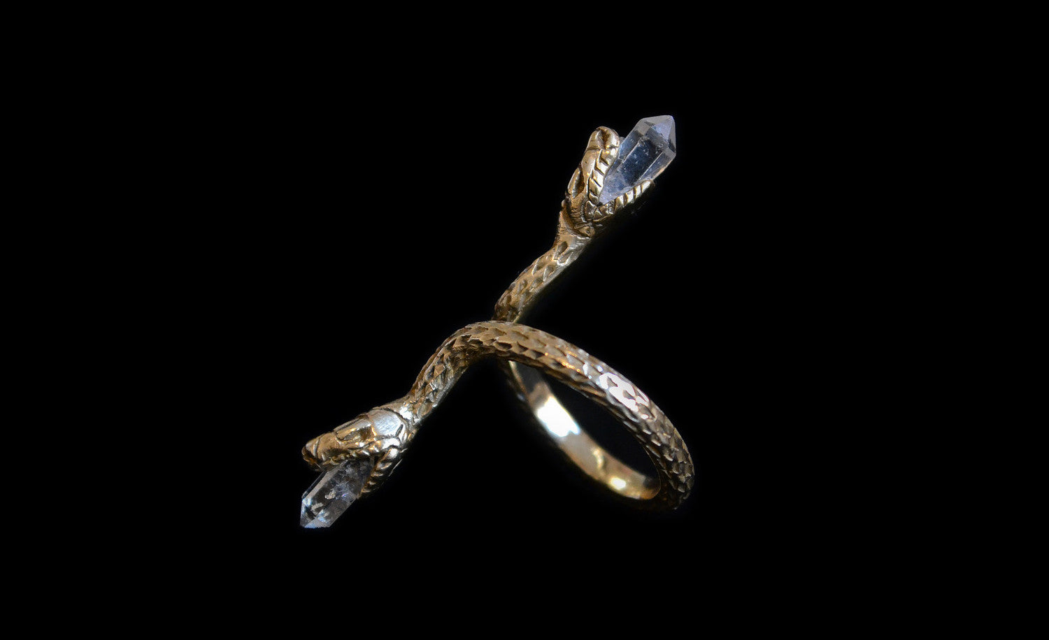 Swimming Serpent Ring