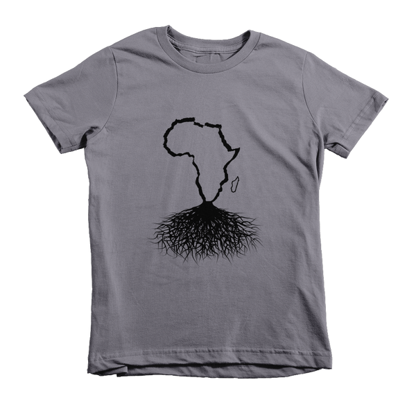 Africa Roots - Black Outline