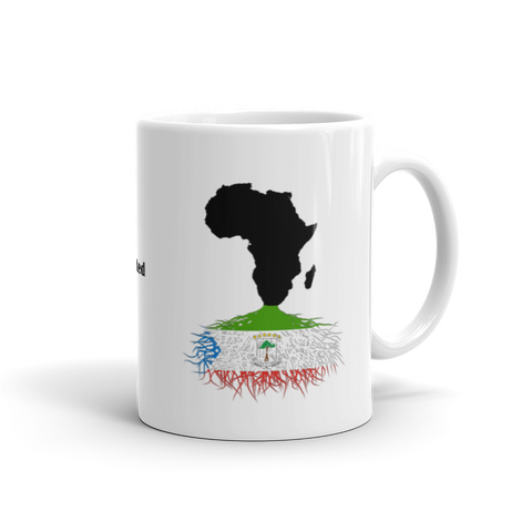 Equatorial Guinea Roots Mug