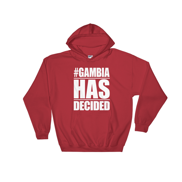 Gambia Has Decided Hoodie