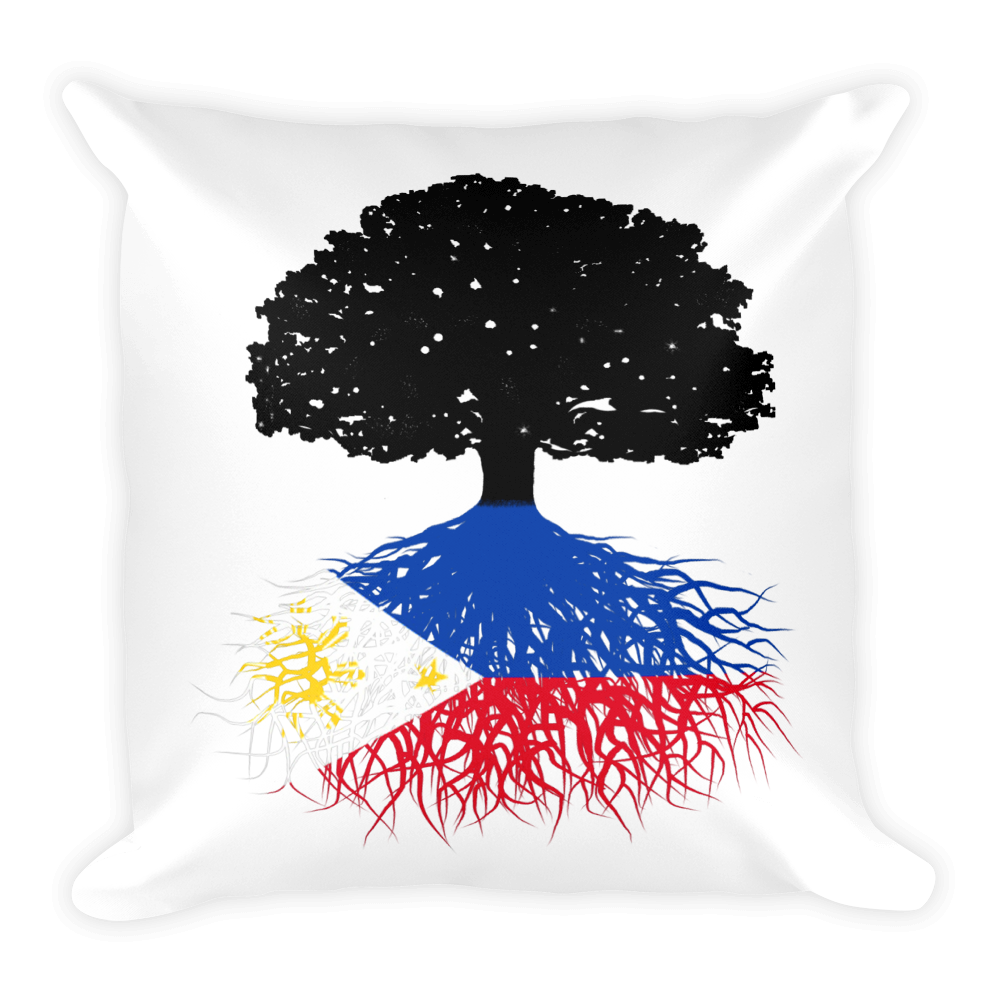 Philippines Roots Pillow