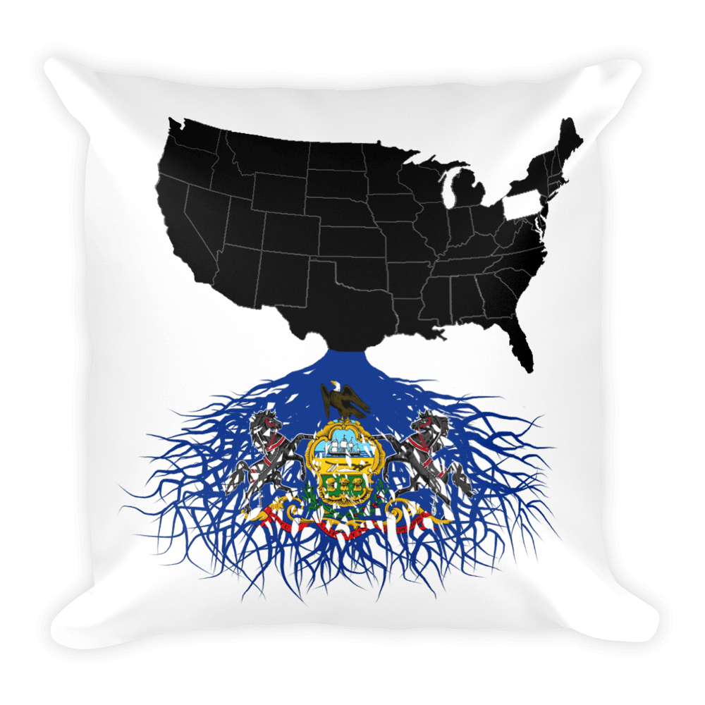 Pennsylvania Roots Pillow