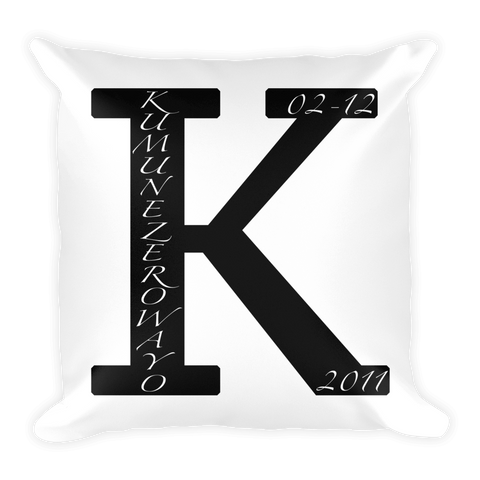 Anniversary Pillow