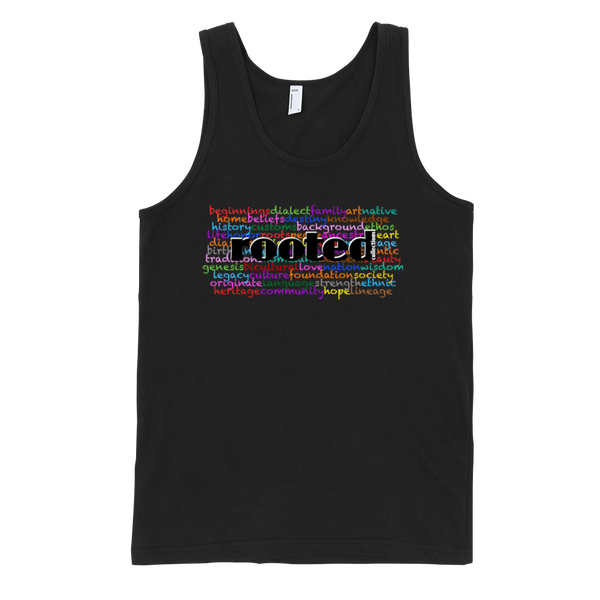 Rooted Words Tank
