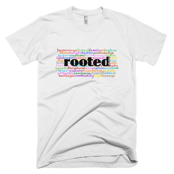 Rooted Words Tee