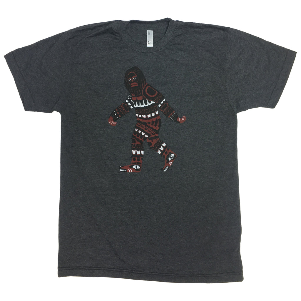 Salish Haida Bigfoot T Shirt