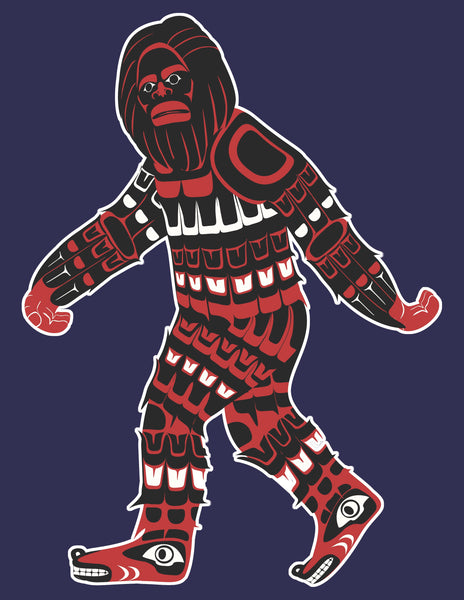 Duwamish Native Bigfoot T Shirt
