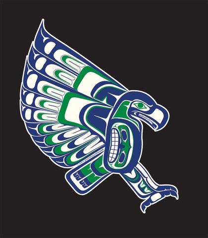 Vinyl Sticker Seahawk